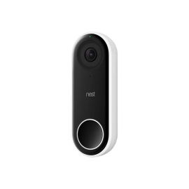 Nest Hello Smart Wi-Fi Video Doorbell (NC5100US) HD Video, Night Streaming, 24/7 Streaming, HDR, Quiet Time and Wi-Fi Connectivity