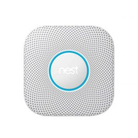 Open Box Google Nest Protect S3003LWES Wired Smoke and Carbon Monoxide Alarm , 2nd Generation - White