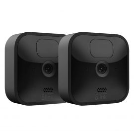Blink Outdoor 3rd Generation Wireless, Weather-Resistant HD, Two-year battery life, motion detection, set up in minutes Security Camera – 2-Pack